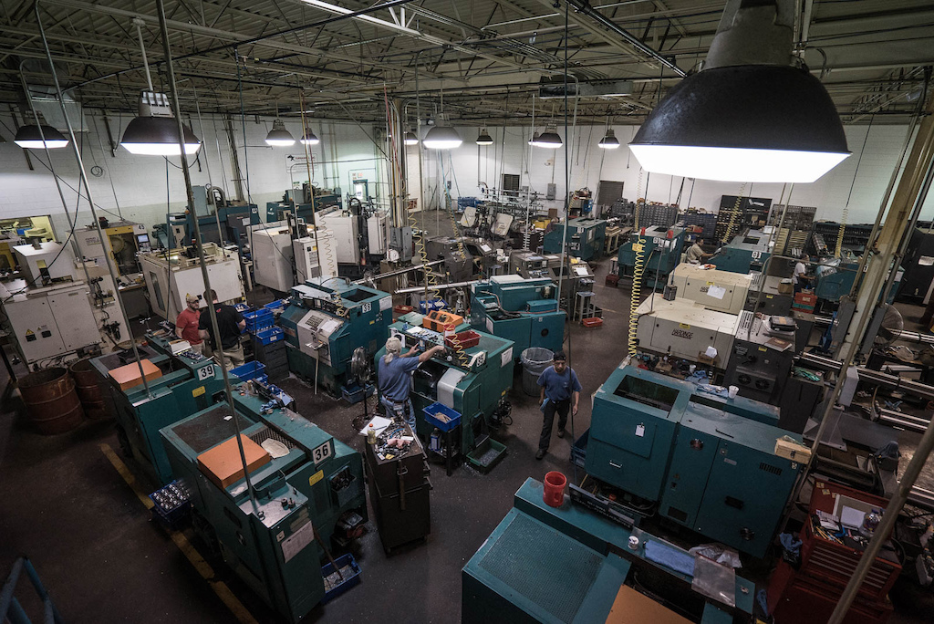 Industry Nine isn t a name without meaning. It is the ninth business born out of this machine shop in Ashville NC and the most successful to date.