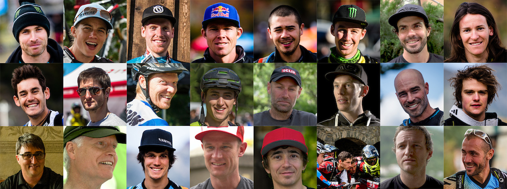 Cast of the film The Rise of Enduro