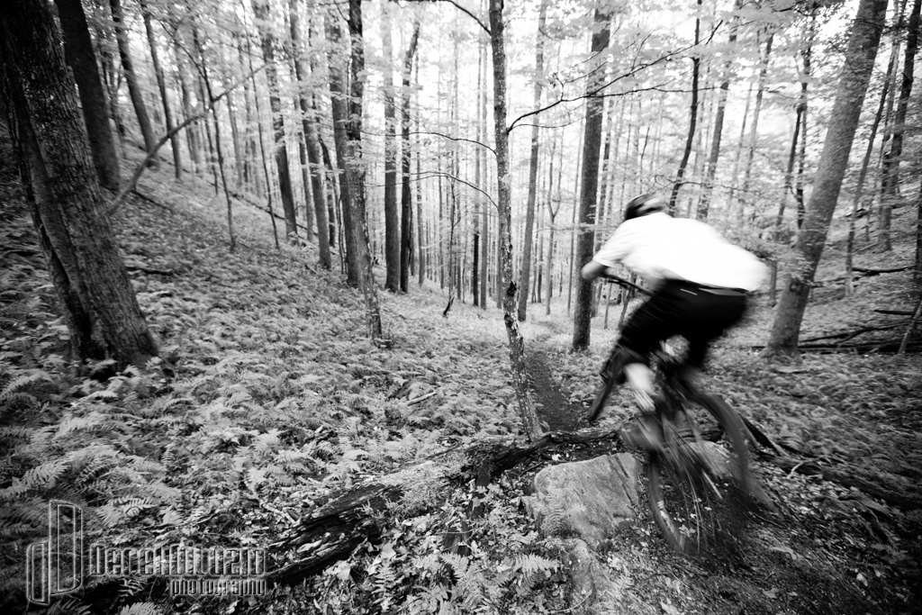 Brandon Blakely and Evan Voss mountain bike in WNC. Photo Derek DiLuzio http www.derekdiluzio.com