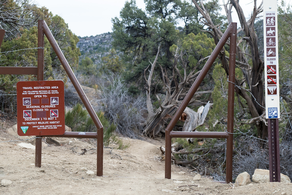 SARLACC Trail is closed seasonally from Dec 1 to May 1