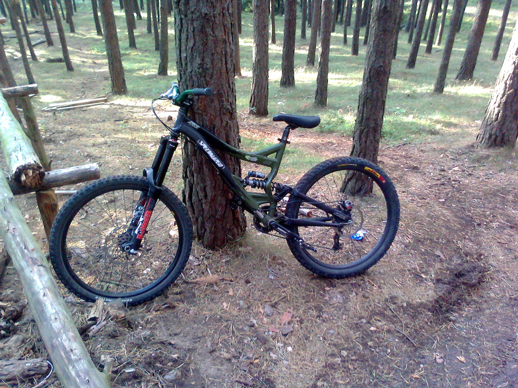 Specialized SX Trail + DHX 4.0 + Marzocchi 66RCV 2008 z powietrzną komorą Protone Air Kit waga roweru to 16,7KG
