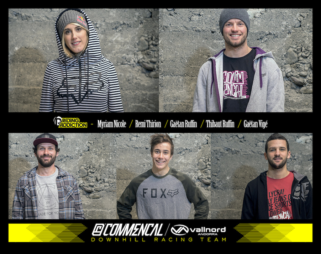 Commencal Vallnord team