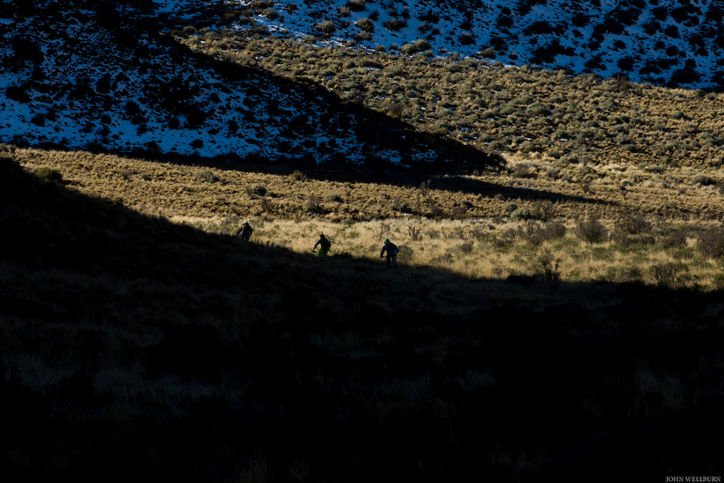 The shadows in the Andes are part of what makes them so unique.