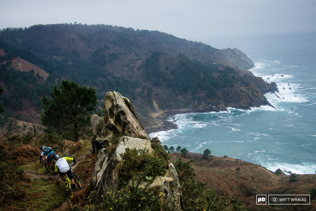 The trails above San Sebastian