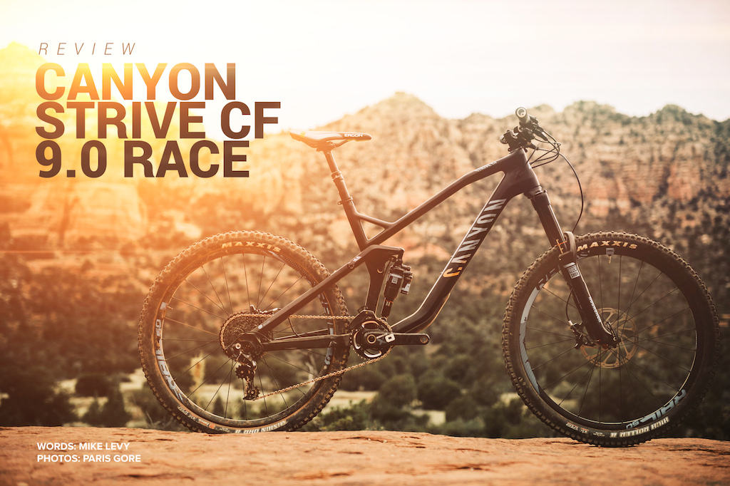 Canyon Strive CF Race 9.0 Photo by Paris Gore