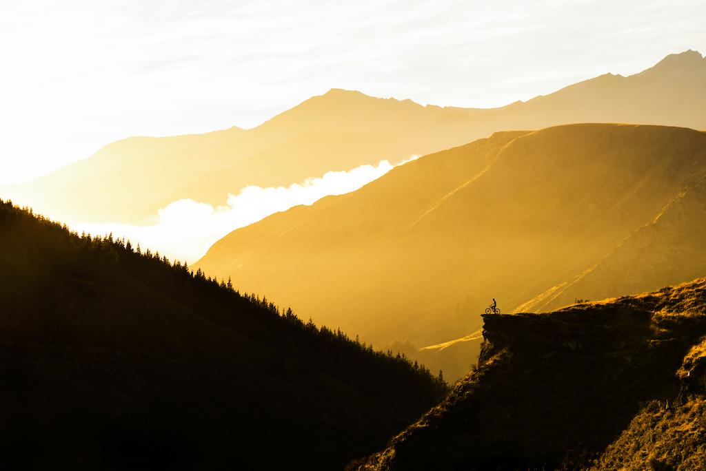 Sunrise on Moonlight Trail