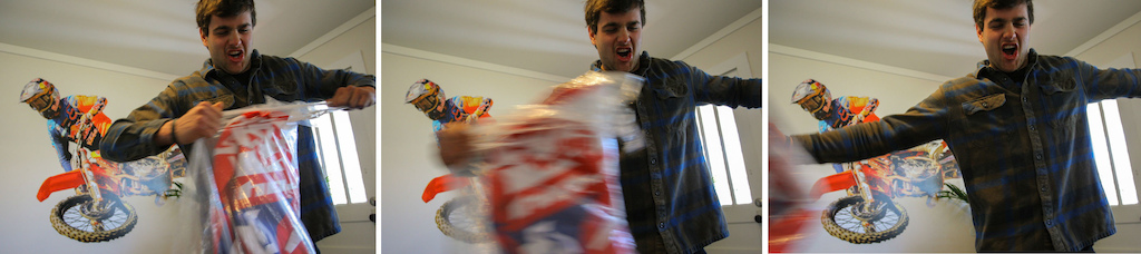 Christmas Ain t Over Can you imagine what the Mulally household is like when it really is Christmas Two brothers ripping part package after package with wrapping paper a flying every which way. Strong Arm It Bro