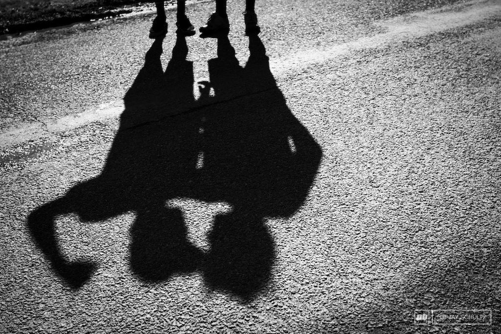The Brothers Mulally They really are shadows of one another. Where one goes the other follows.
