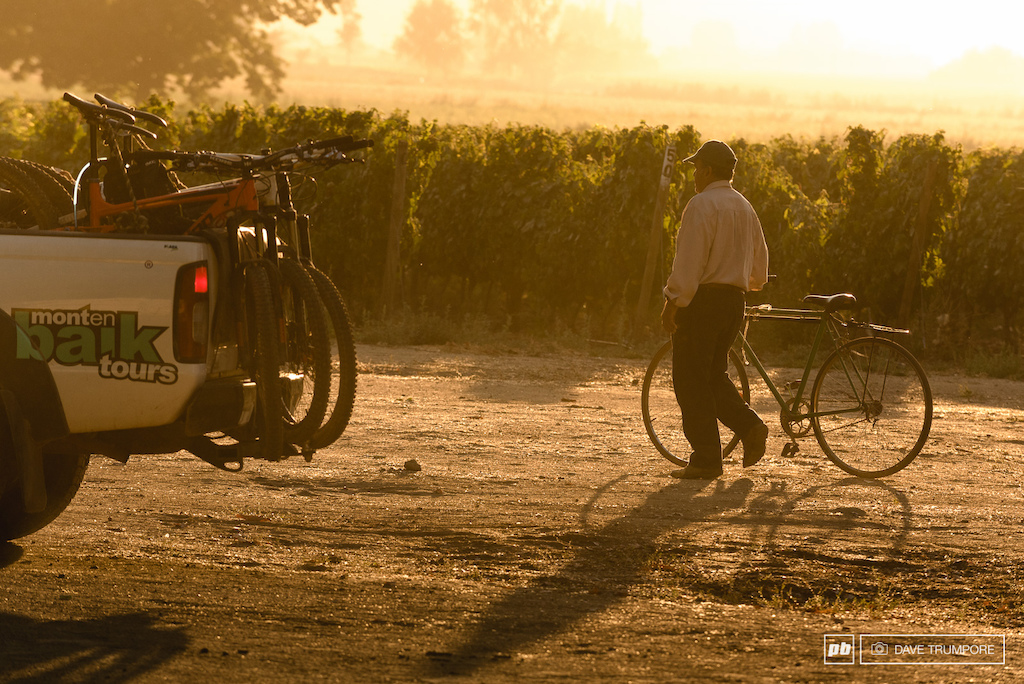 Riders woke at dawn once again to make one final push from the vineyards down to the Pacific Ocean