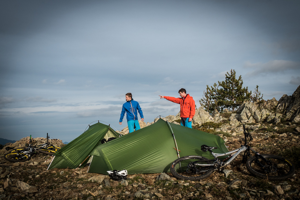 A gem of a camp High-up above the valley of Callacuccia we put up our tents. .