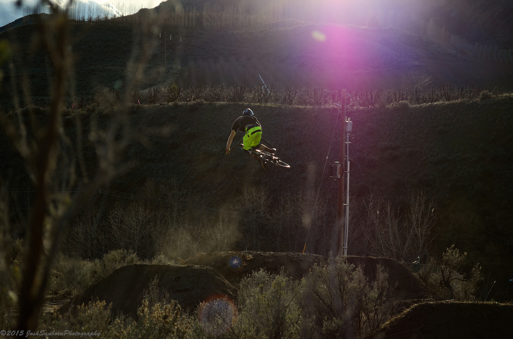 getting sideways at the golden hour.