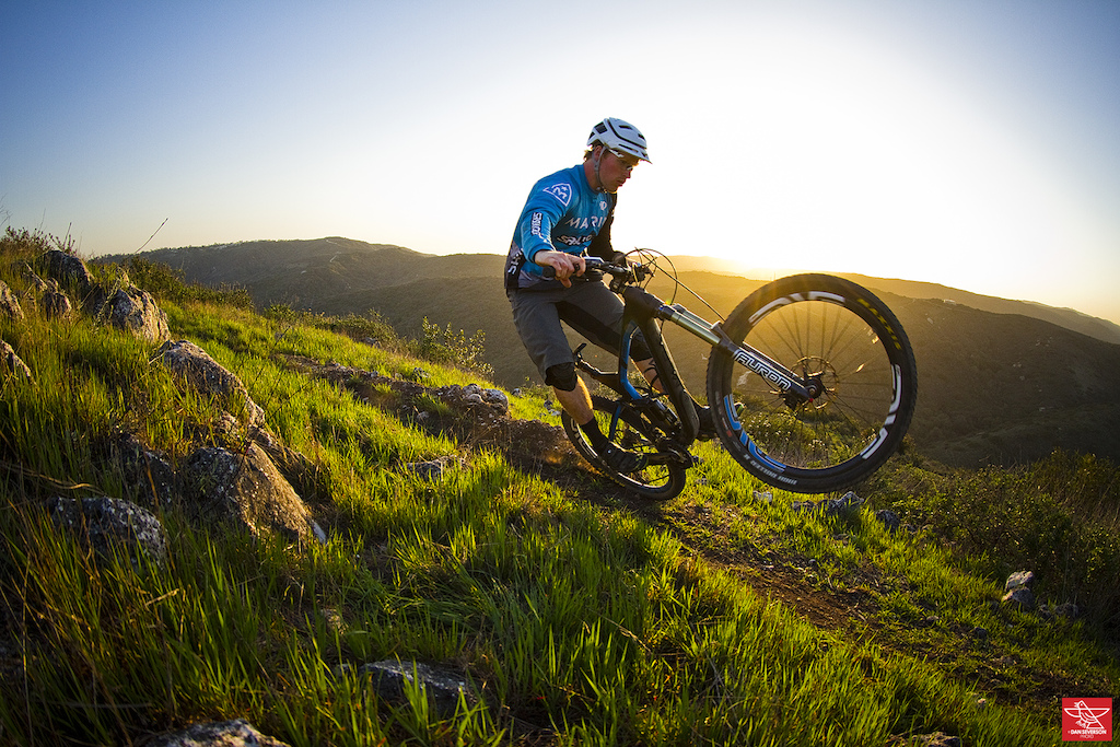 Nor Cal resident Kyle Warner stopped by on a recent road trip to sample some Aliso Woods trail goodness. www.danseversonphoto.com
