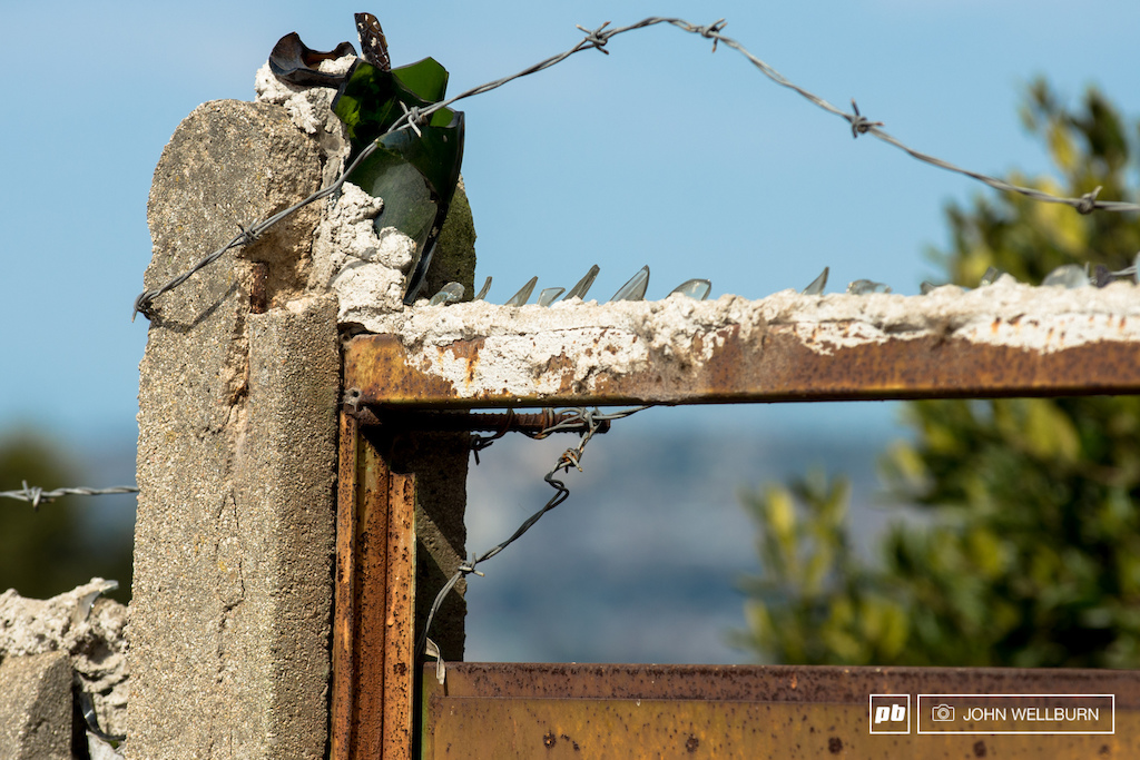 When you bail in Valpo you may need to top up your tetanus. The sidelines are a friendly mixture of broken glass barbed wire jagged concrete and rusty metal.