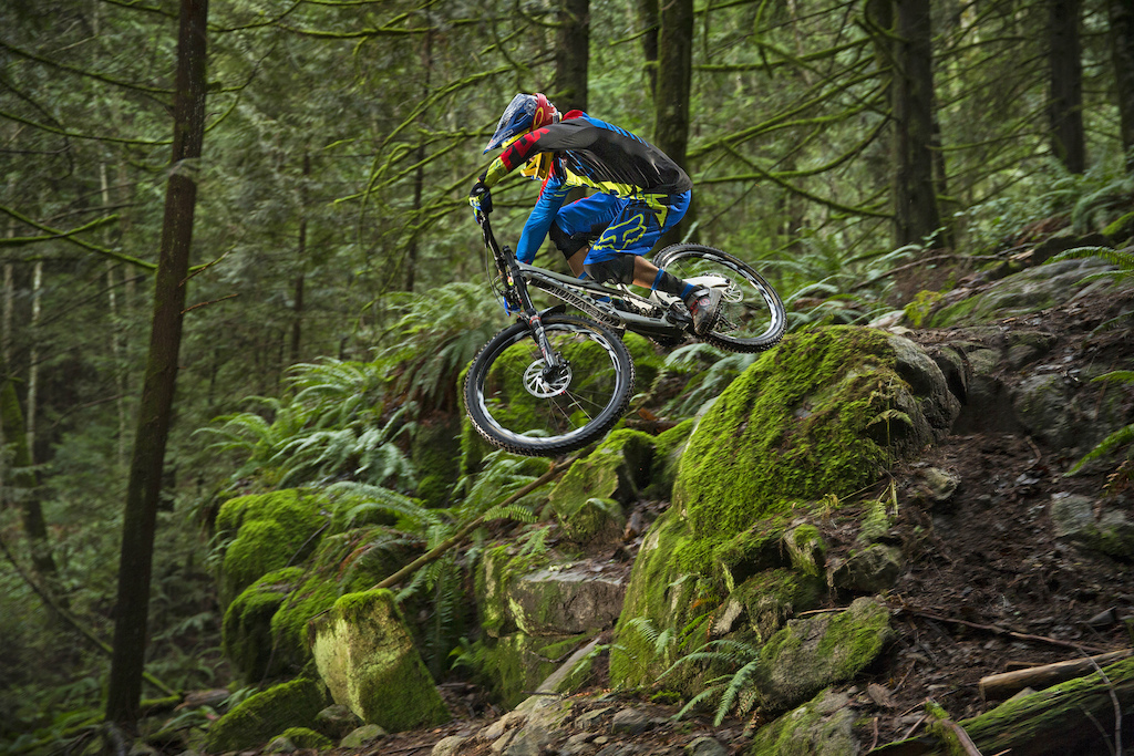 steve smith and connor fearon on vancouver s north shore british columbia