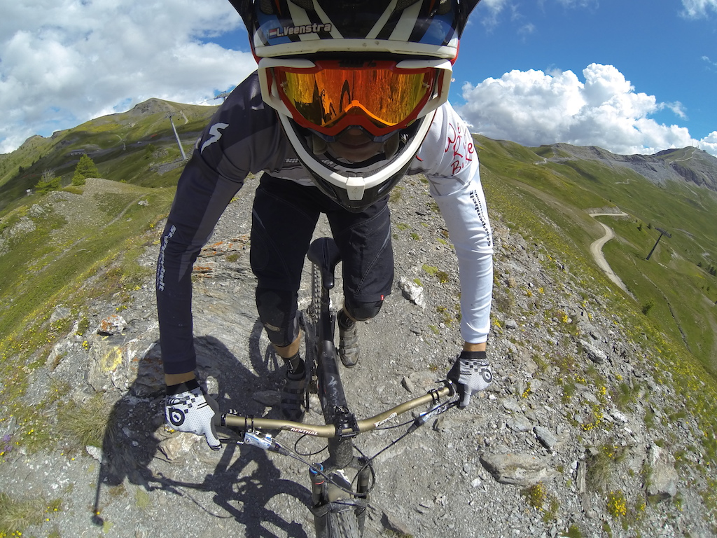 Alpi Bike Park ridge lines are the best