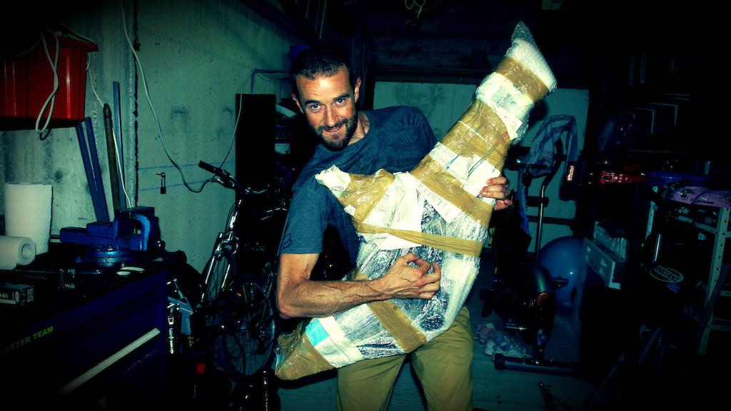 Dom a reçu son Pivot Mach 6