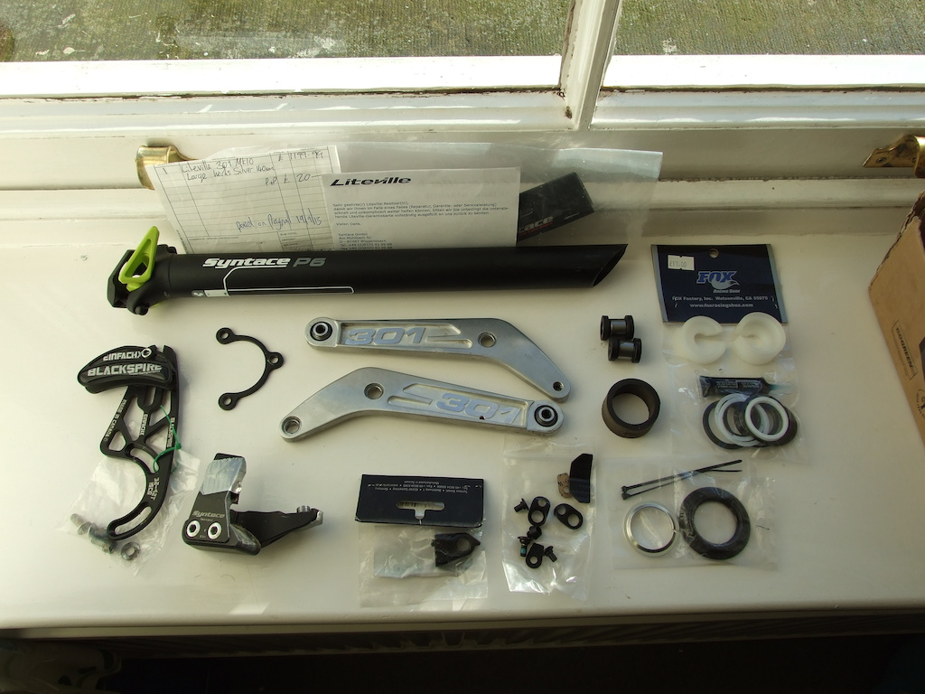 2013 Liteville 301 frame- Large. With or without Pikes, Crossmax