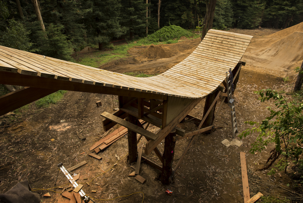 Rotorua Slopestyle Build Update images