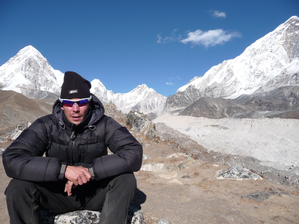 Nepal trip 2009.  Amazing people, amazing country, amazing scenery!!  A purely magical experience I will never forget.