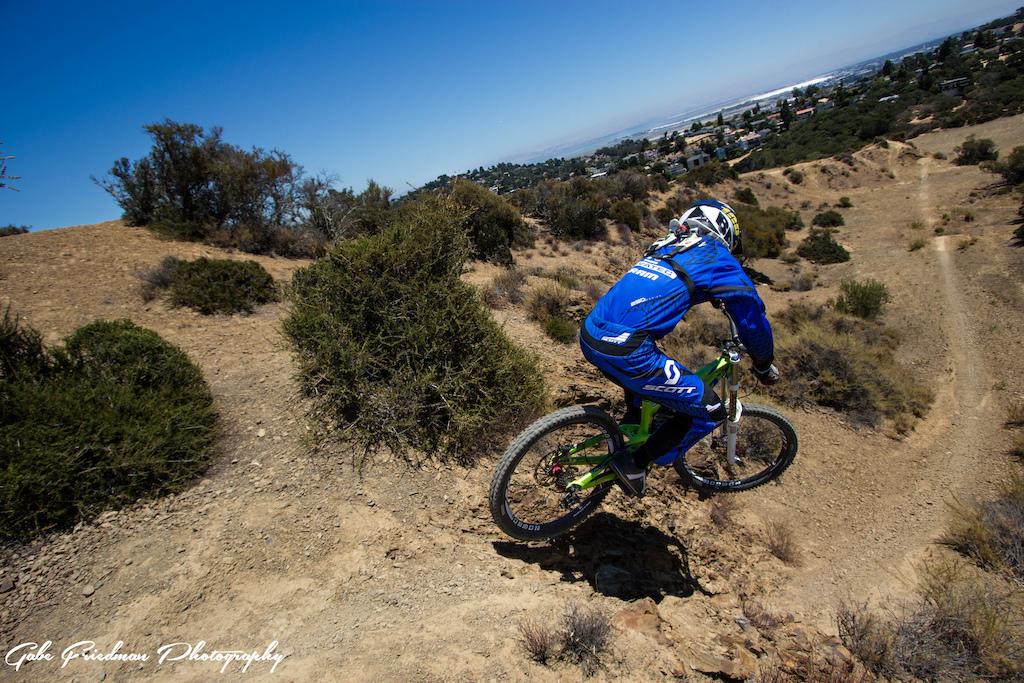 Riding for the Scott/Novatec Team