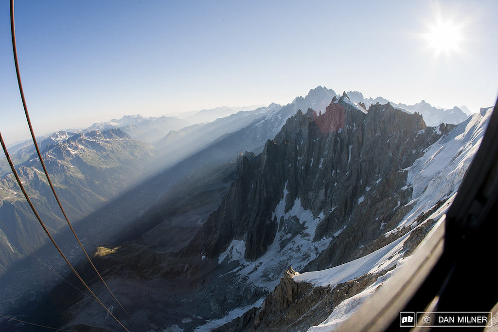 Dan Milner shoots with DMR for the launch of their Alpine Division range. Shot on his doorstep in Chamonix The French Alps.