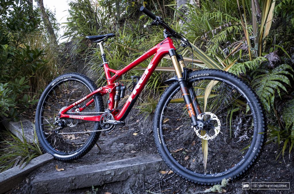 Justin Leov s EWS Remedy 29er - Crankworx Rotorua