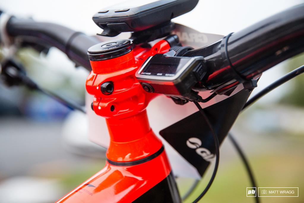 Nico Lau bike check.