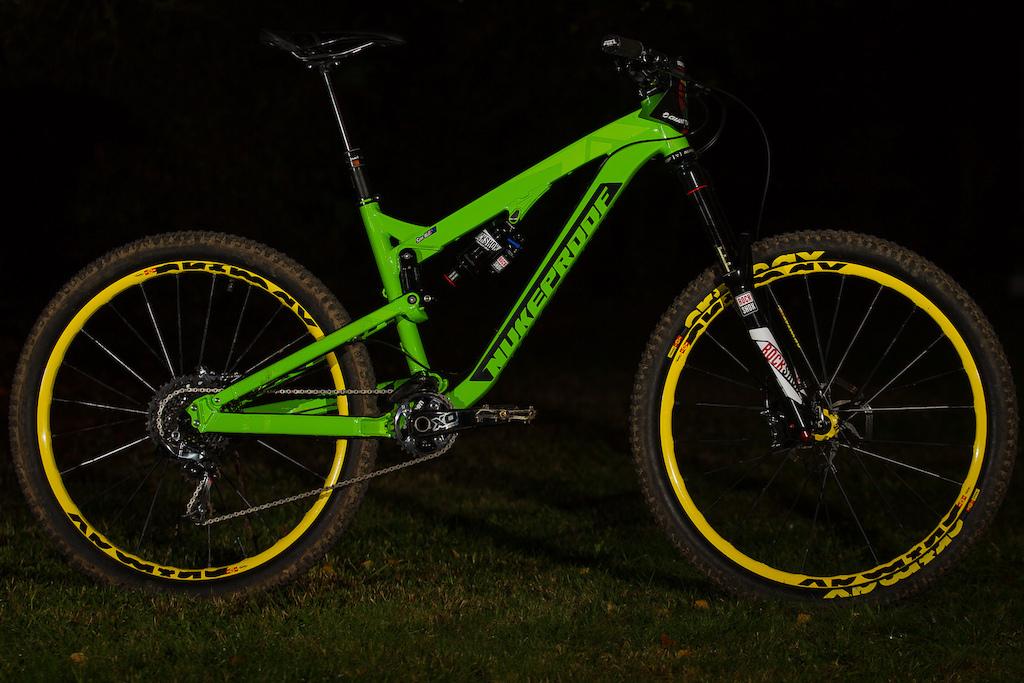 Sam Hill's Nukeproof Mega and Prototype DH Bike ...