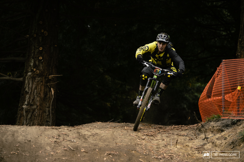 Sam Hill racing his first Enduro to date.