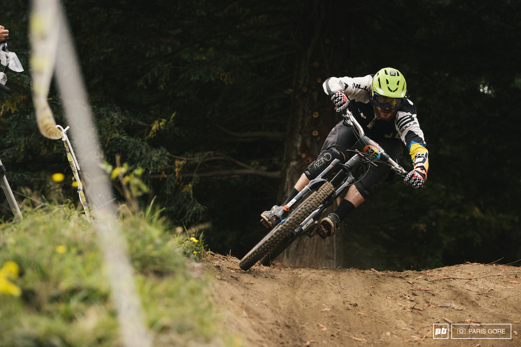 Wyn Masters held out first place in the stages and had the home court advantage here in Rotorua.
