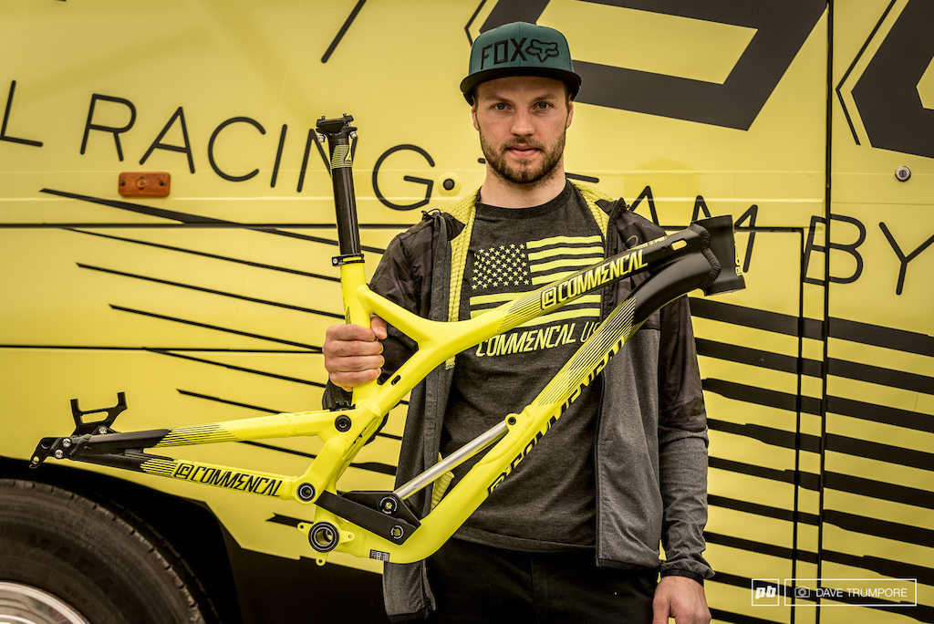 Commencal DH bike prototype