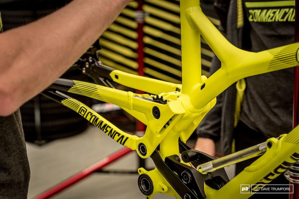 Commencal DH bike prototype