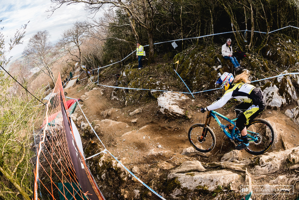 Rachel Atherton is angry this year after playing the runner up in 2014 in both the World Cup and World Champs. Full of confidence and riding practice full speed it s safe to say he is out to prove something this weekend