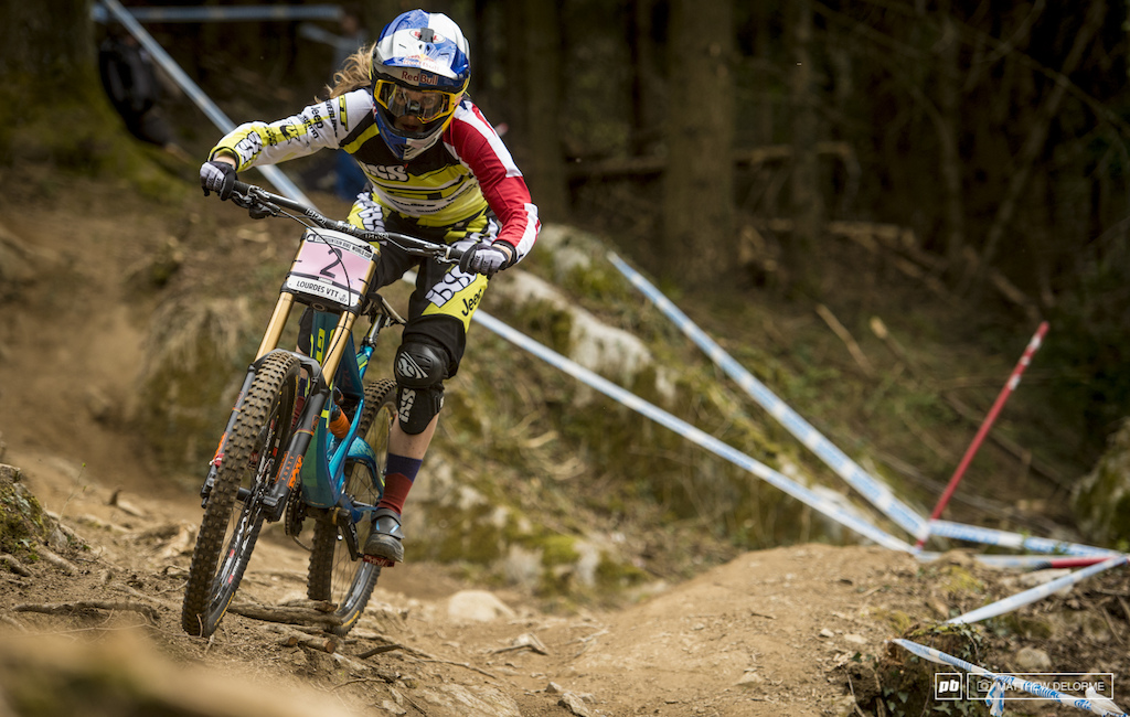 Rachel Atherton was second today down six seconds on Hannah. Rest assured second won t be good enough for her tomorrow.