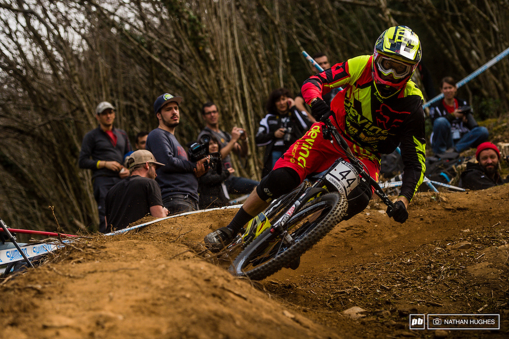A stunning performance today for Devinci Global Racing s Dean Lucas ramping his way to a jaw-dropping fifth place qualifier. On a track this burly there is absolutely no faking that kind of result... Let s hope he can do it all again tomorrow.