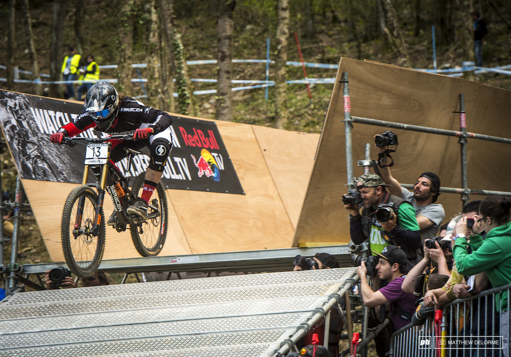 Sam Dale took his first podium here in Lourdes finishing fifth.