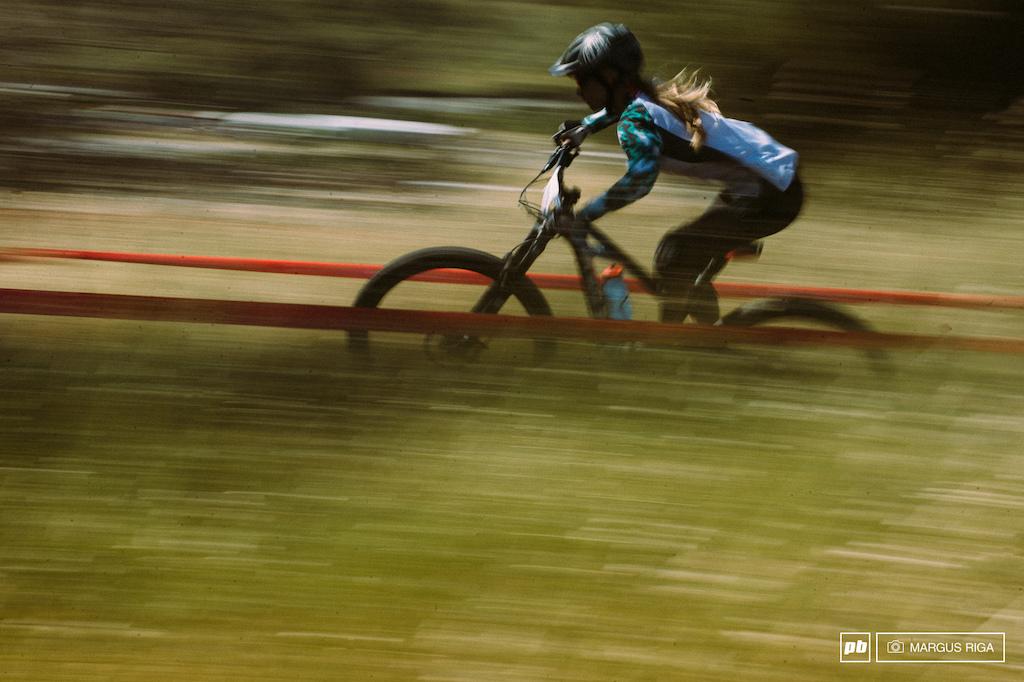 Rachel Throop has been picking up speed all year.