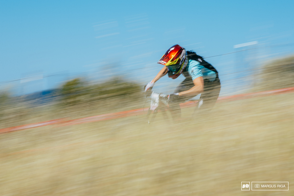 Anneke Beerton was a blur today, winning two of four stages and taking home the gold.
