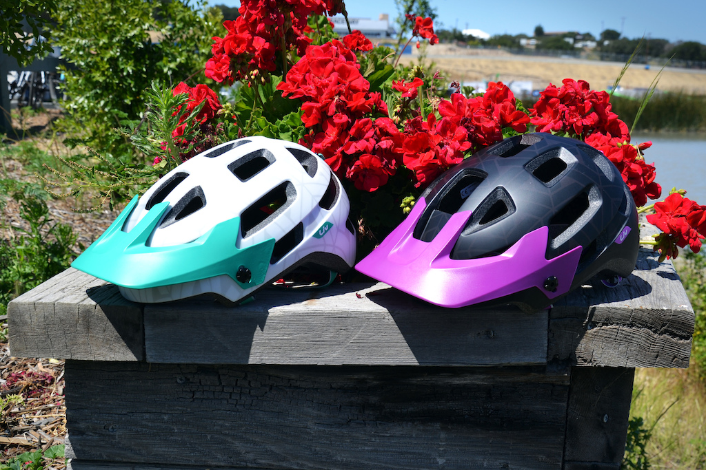 Liv have just release the new Infinita trail helmet. The lid features full rear coverage 18 ventilation points an integrated goggle strap GoPro compatible mount anti microbial material and a whole lot more. The Infinita comes in two colorways pictured here and retails for 120 USD.
