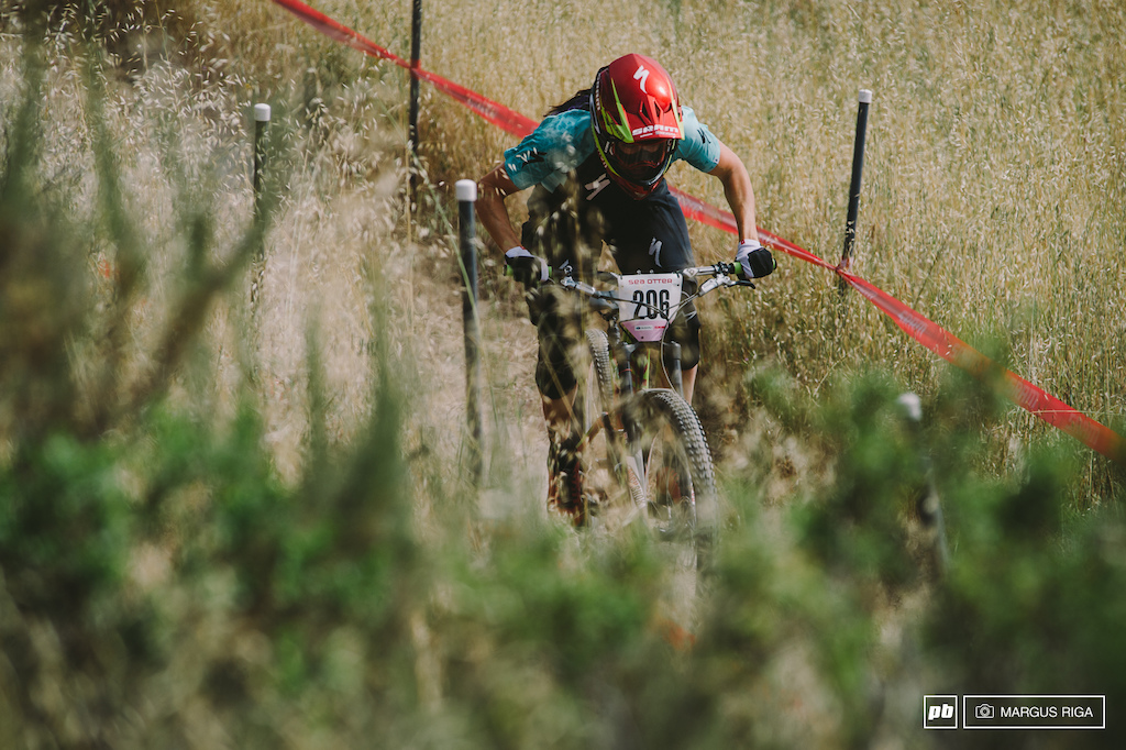 Anneke Beerton will just have to resign to the fact that Jill Kintner is un-beatable at Sea Otter.
