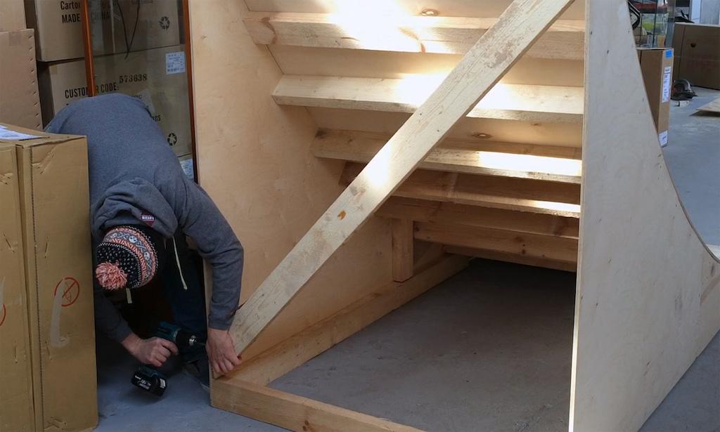Using Dartmoor's Bike Box to Build a Wood Kicker