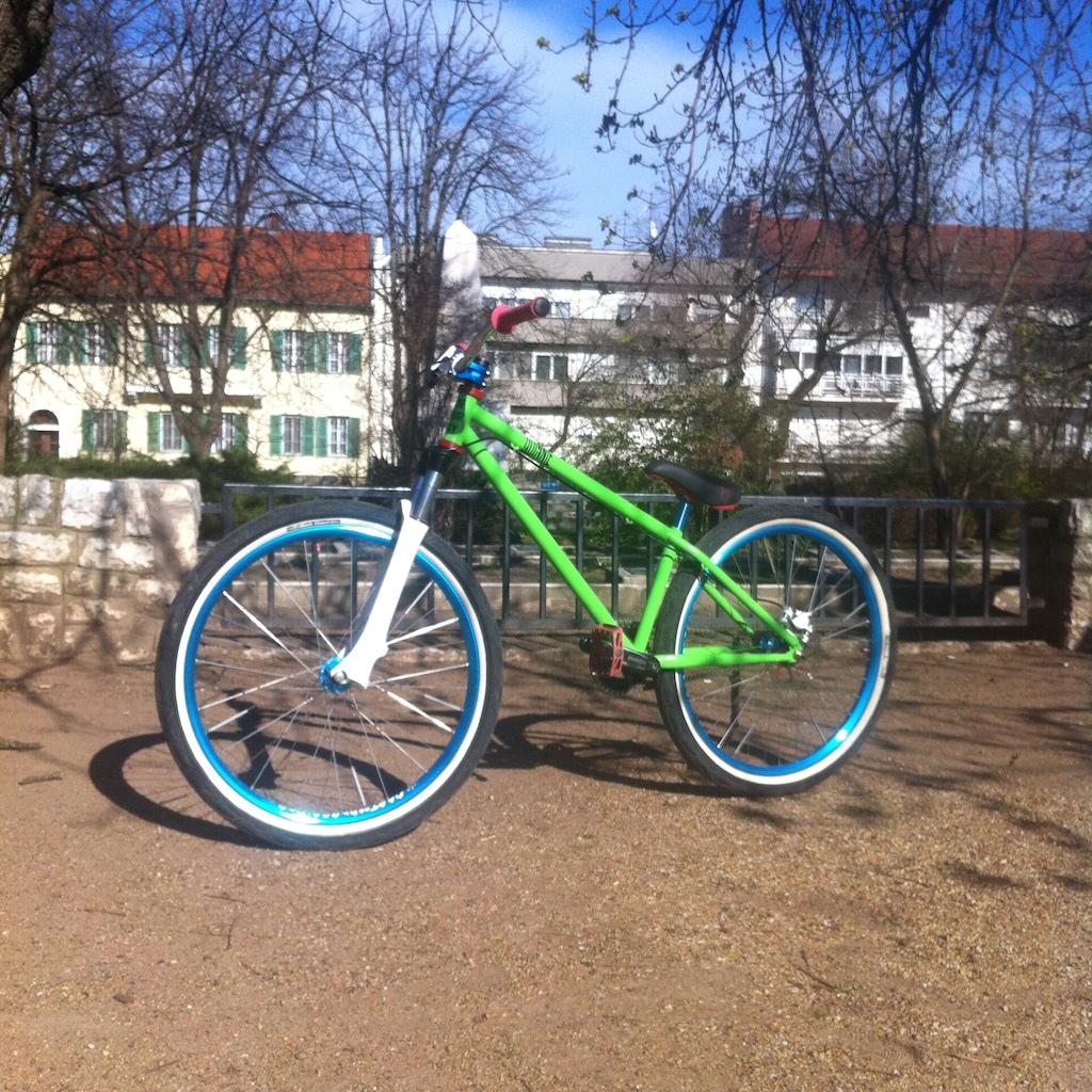 My Dartmoor quinnie bike