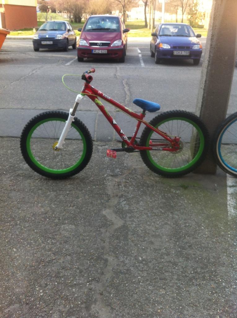 My Umf Hardy 1 steel team bicycle