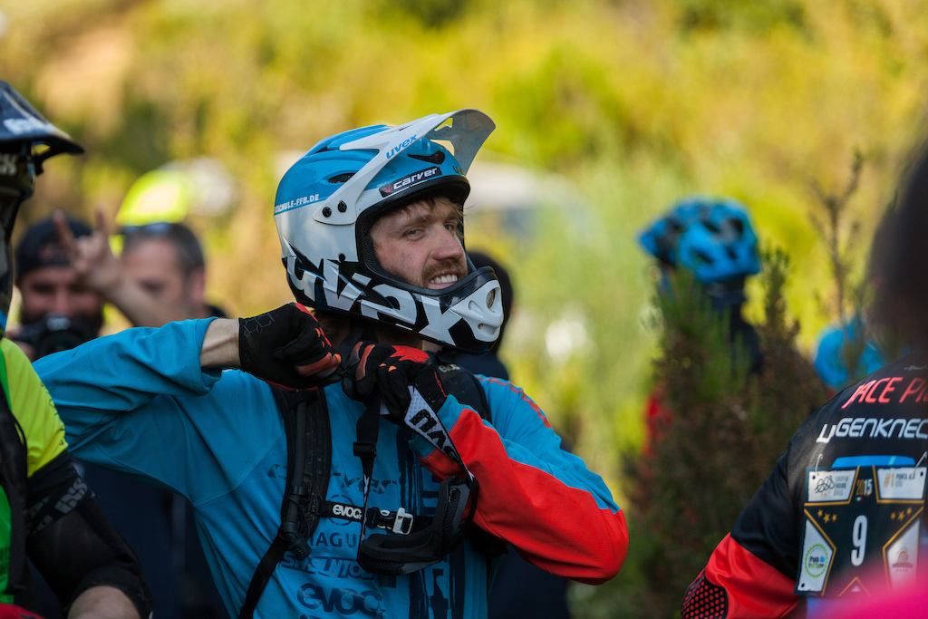 Max Schumann during the competition of the European Enduro Series in Punta Ala, on April 26, 2015. Free image for editorial usage only: Photo by Antonio Lopez Ordonez