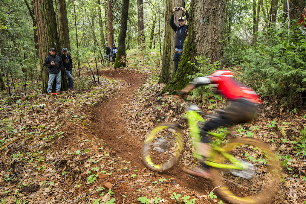 The Sanchez wasn t just serving up muddy bikes. Oh no there was also a healthy diet of fast flowy trails to be had as well.