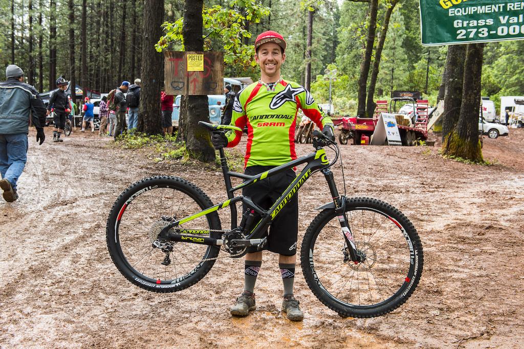 Jerome Clementz race bike at the Dirty Sanchez