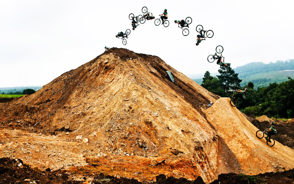 And how could I leave without chucking a massive double backie for the boys Really was a big deal after breaking my back doing one at Crankworx Europe in 2012 but as Dyl kept reminding us just live the dream