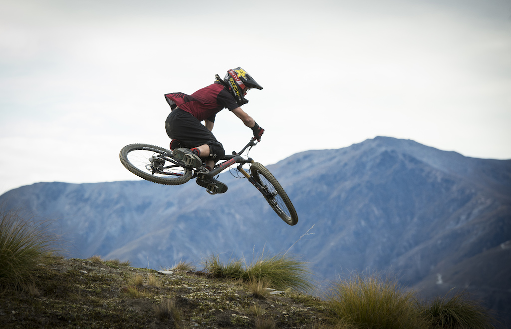 Matt Delorme Photo - Cam McCaul in New Zealand
