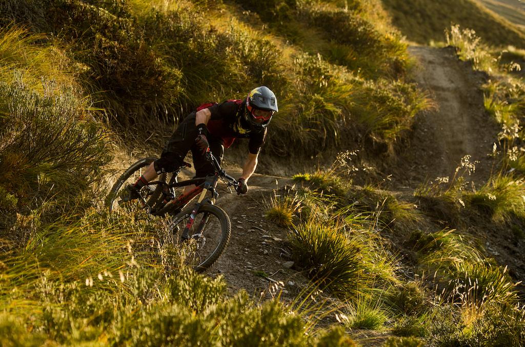 Matt Delorme Photo - Cam McCaul in New Zealand