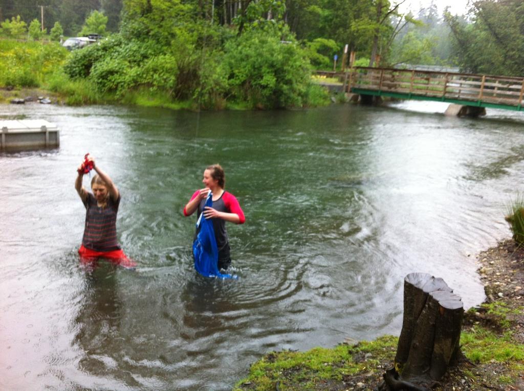 Pics 18 Rainy Lake Bathing at Cultas Lake